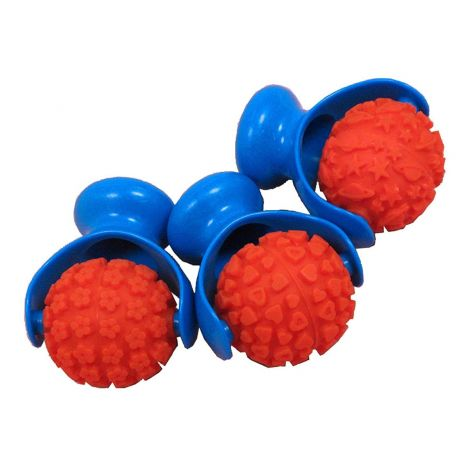 PATTERNED PAINT ROLLERS, SET OF 3