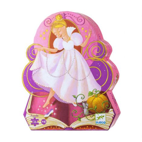 FAIRY TALE SILHOUETTE JIGSAW PUZZLE: CINDERELLA (36PC)