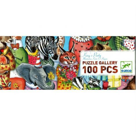 GALLERY JIGSAW PUZZLE: KING PARTY (100PC)