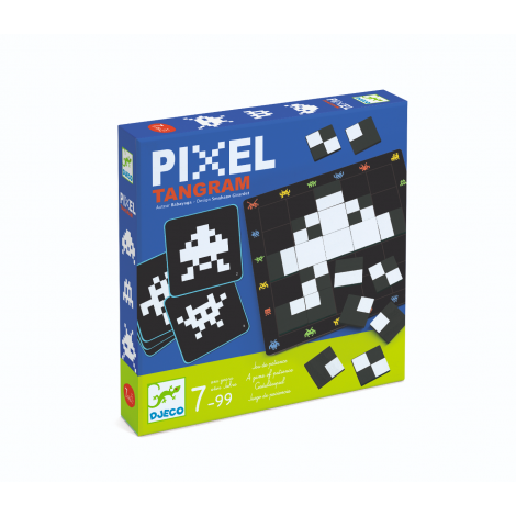 PIXEL TANGRAM GAME OF SKILL