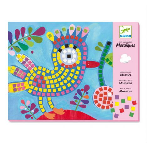 MOSAICS ACTIVITY SET: BIRD & LADYBIRD