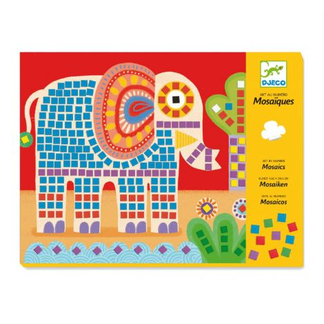 MOSAICS ACTIVITY SET: ELEPHANT & SNAIL
