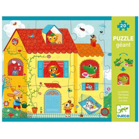GIANT OPTICAL JIGSAW PUZZLE: THE HOUSE (20PC)