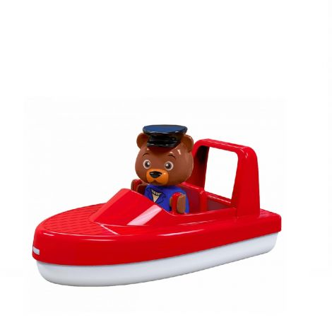 AQUAPLAY SPEEDBOAT WITH BO THE BEAR