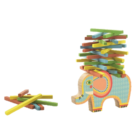 ELEPHANT LOGS BALANCING GAME