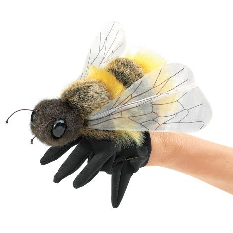 HONEY BEE HAND PUPPET