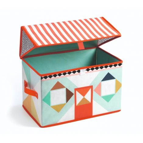 HOUSE TOY STORAGE BOX