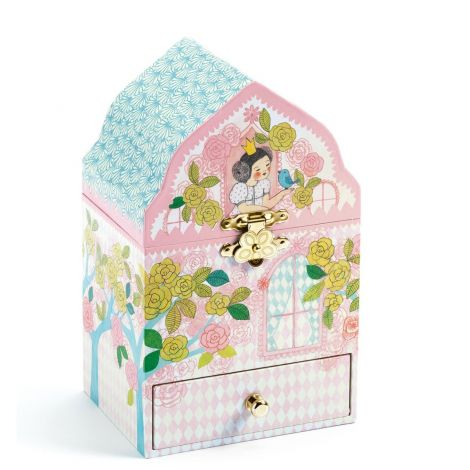 DELIGHTED PALACE SILHOUETTE MUSIC BOX