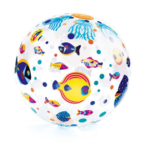 FISHES INFLATABLE BEACH BALL