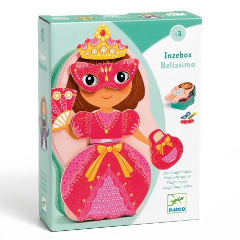 INZEBOX WOODEN MAGNETIC CREATION KIT: BELISSIMO FAIRY PRINCESS