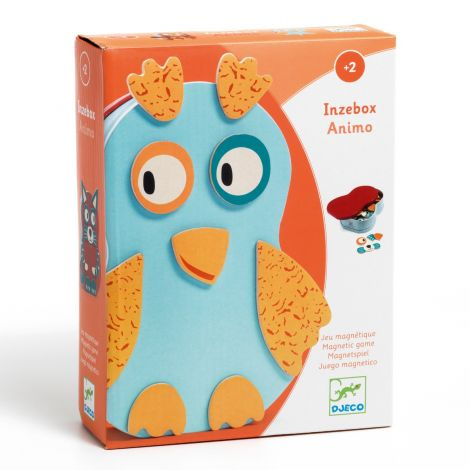 INZEBOX WOODEN MAGNETIC CREATION KIT: ANIMALS