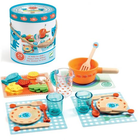 DINNER TIME, KITTENS! ALL-IN-ONE FOOD PLAY SET