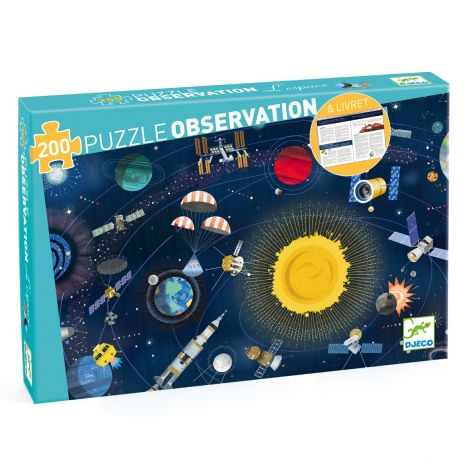 OBSERVATION JIGSAW PUZZLE: SPACE (200PC)