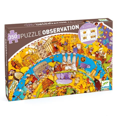 OBSERVATION JIGSAW PUZZLE: WORLD HISTORY (350PC)