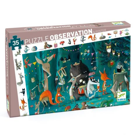 OBSERVATION JIGSAW PUZZLE: THE ORCHESTRA (35PC)