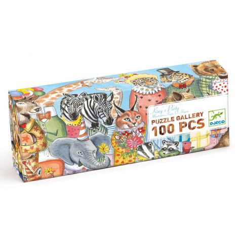 GALLERY JIGSAW PUZZLE: KING'S PARTY (100PC)