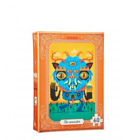 MINI JIGSAW PUZZLE: THE MONSTER (60PC)