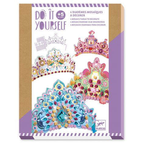 [PRE-ORDER: ETA END JUNE] DO IT YOURSELF ACTIVITY SET: MOSAIC ROYAL CROWNS TO CREATE