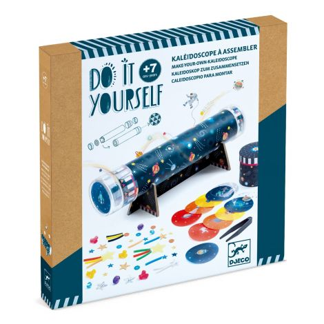 DO IT YOURSELF ACTIVITY SET: SPACE IMMERSION KALEIDOSCOPE TO CREATE