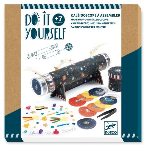 [PRE-ORDER: ETA END JUNE] DO IT YOURSELF ACTIVITY SET: SPACE IMMERSION KALEIDOSCOPE TO CREATE