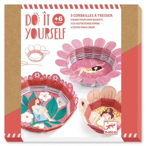 DO IT YOURSELF ACTIVITY SET: BLOOMING BASKETS TO WEAVE