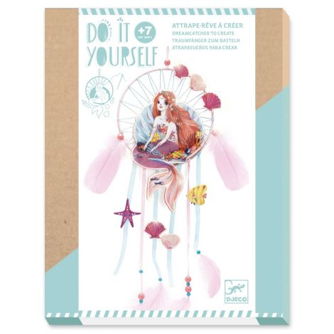 DO IT YOURSELF ACTIVITY SET: MERMAID DREAMCATCHER TO CREATE