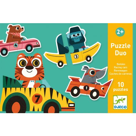 PUZZLE DUO: RACING CARS