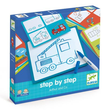 EDULUDO STEP-BY-STEP DRAWING KIT: ARTHUR & CO.