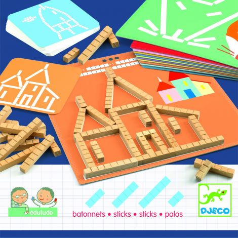 EDULUDO CALCULATION STICKS GAME