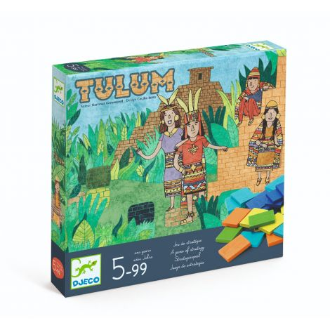 TULUM STRATEGY BOARD GAME