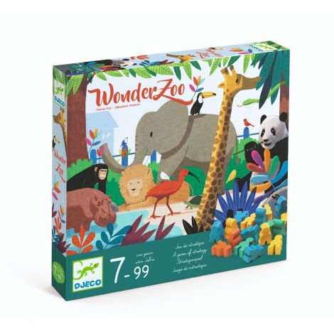 WONDER ZOO BOARD GAME