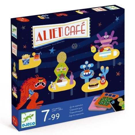 ALIEN CAFE COOPERATIVE STRATEGY GAME