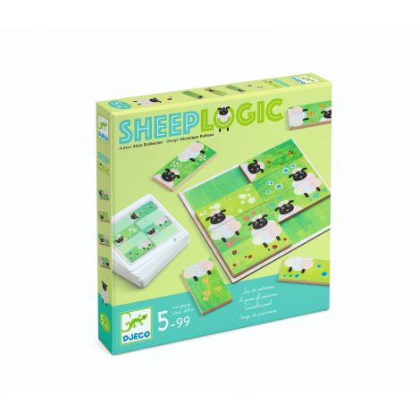 SHEEP LOGIC IQ PUZZLE GAME