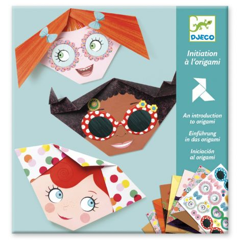 INTRDUCTORY ORIGAMI ACTIVITY SET: PRETTY FACES