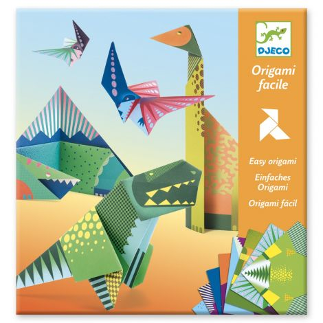 EASY ORIGAMI ACTIVITY SET: DINOSAURS