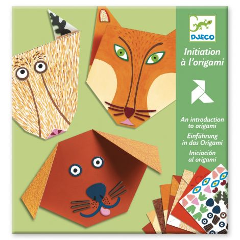 INTRODUCTORY ORIGAMI ACTIVITY SET: ANIMAL FACES