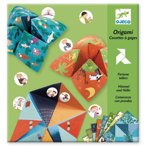 ORIGAMI ACTIVITY SET: FORTUNE TELLER ANIMALS