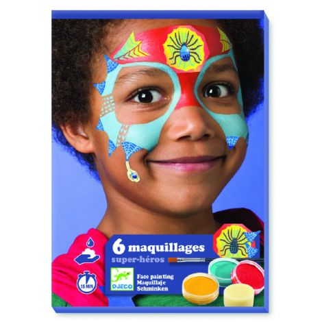 FACE ART KIT: SUPERHEROES