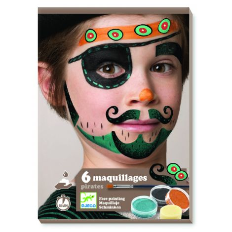 FACE ART KIT: PIRATES