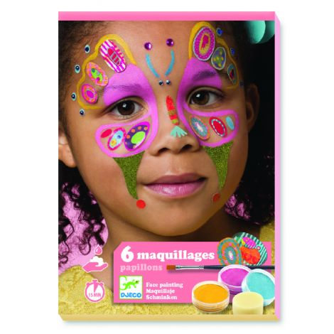 FACE ART KIT: BUTTERFLIES