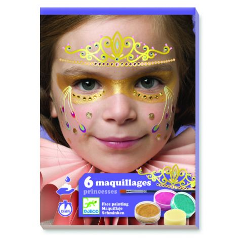 FACE ART KIT: PRINCESSES