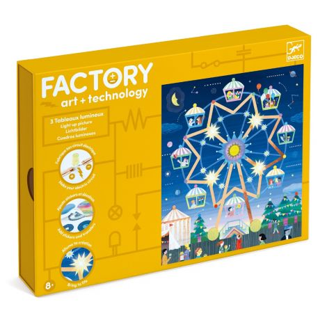 FACTORY ART + SCIENCE STEAM PROJECT KIT: 'WAY UP HIGH' PICTURE BOARDS
