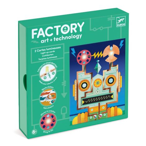 FACTORY ART + SCIENCE STEAM PROJECT KIT: 'CYBORGS' PICTURE BOARDS