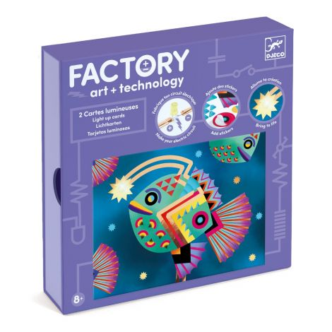 FACTORY ART + SCIENCE STEAM PROJECT KIT: 'ABYSSES' PICTURE BOARDS