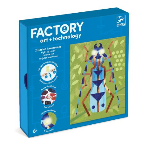 FACTORY ART + SCIENCE STEAM PROJECT KIT: 'INSECTARIUM' PICTURE BOARDS