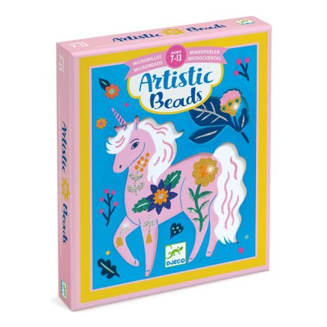 ARTISTIC MICROBEADS ART-BY-NUMBERS ACTIVITY SET: FLOWERS & FUR