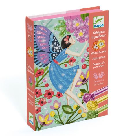 GLITTER ART-BY-NUMBERS WORKSHOP: THE GENTLE LIFE OF FAIRIES