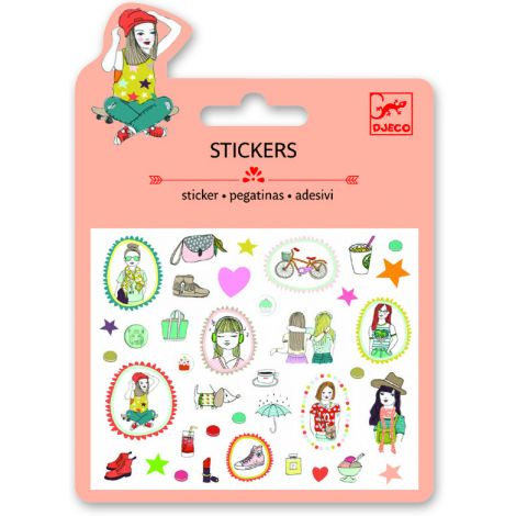 MINI GLITTER STICKERS: FASHION (4 FOR $10)