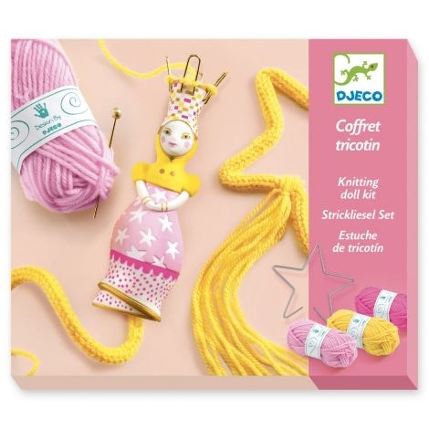 FRENCH KNITTING WORKSHOP KIT: PRINCESS
