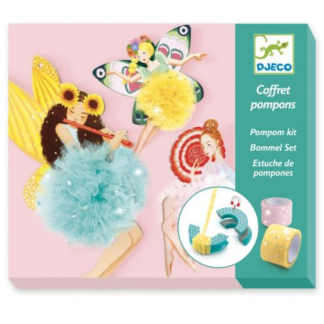 POMPOM MAKER KIT: FAIRY POMPOMS